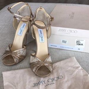 Glitter Lace Jimmy Choo Sandal